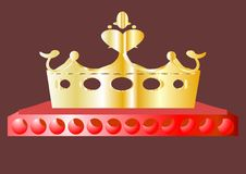 Crown. Royalty Free Stock Photo