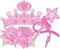 crown公主 库存图片