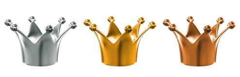 crown Fotografie Stock Libere da Diritti