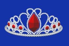 crown illustrazione vettoriale