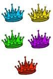 crown immagini stock