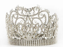 Crown. For the winner of competition of Ms. of the world Royalty Free Stock Image