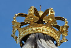 Crown on Albertina Museum Stock Photos