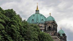 Crown Of Berlin Dome. Peak of Berlin dome historic building heritage culture in Berlin Germany Royalty Free Stock Image
