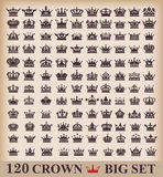 icons crown vector Royalty Free Stock Photo