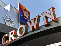 Crown Casino in Melbourne Stock Photography