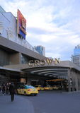 Famous Crown casino hotel Melbourne Stock Image