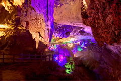 Crown cave guangxi province china Royalty Free Stock Photos