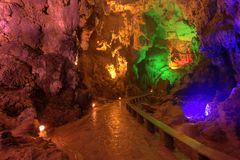 Crown cave guilin guangxi province Royalty Free Stock Photos