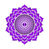 The Crown Chakra Royalty Free Stock Image