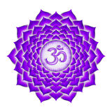 The Crown Chakra Stock Image