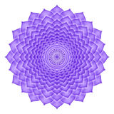 Crown Chakra isolated Stock Photo