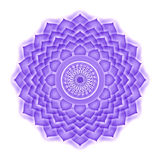 Crown Chakra isolated Royalty Free Stock Photo