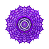 Crown Chakra isolated Stock Image