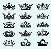 Crown collection stock illustration