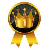 Crown crown medal Stock Photos