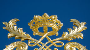Crown de Versalles de rey Imagen de archivo libre de regalías