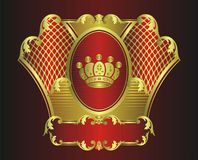 Crown design Stock Photo