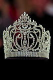 crown diamanten Royaltyfria Bilder
