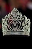 crown diamanten Royaltyfria Bilder