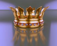 Crown with diamond Stock Photos