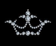 Crown and diamonds Stock Photo
