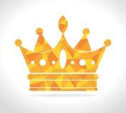 Crown digital design. Stock Image