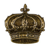 Crown, element for scrapbooking Royalty Free Stock Image