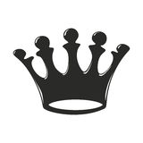 Crown with five spikes Stock Photos