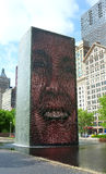 Crown fountain chicago Royalty Free Stock Photography