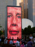 Crown Fountain Chicago Stock Photography