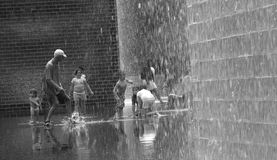 Crown Fountain in Millennium Park Royalty Free Stock Image