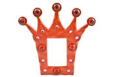 Crown frame Royalty Free Stock Photo
