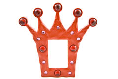 Crown frame Stock Image