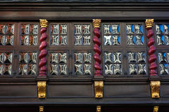 Crown glass windows in Aachen Royalty Free Stock Photos