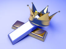 Royal commodities Royalty Free Stock Photo