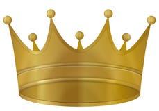 Crown gold Stock Photos