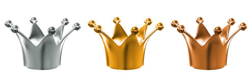 Crown Royalty Free Stock Photos