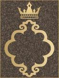 crown guld- Royaltyfri Foto