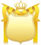 crown guld Royaltyfria Foton