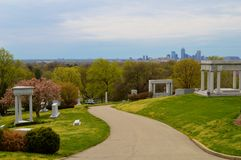 Crown Hill Cemetery Royalty Free Stock Photos