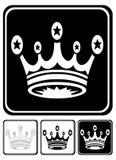 Crown Icon Royalty Free Stock Photo