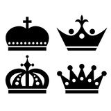 Crown icon Royalty Free Stock Photo