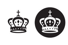 Crown icon Stock Image
