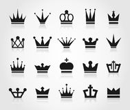 Crown an icon Stock Photo