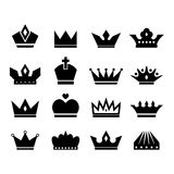 Crown icon Royalty Free Stock Images