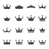 Crown icon Royalty Free Stock Photos