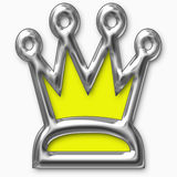 Crown isolated Stock Photo