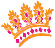 Crown With Jewels Stock Image