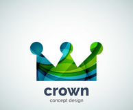 Crown logo template Stock Photography